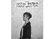 Justin Bieber Concert at London O2 on Tuesday 29th November 2016 (last concert of tour)