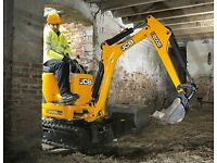 LOW COST DIGGER HIRE MICRO/ MINI/ 3 TONNE