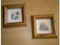 Framed Butterfly Flower pictures