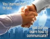 You learned how to talk. BUT DID YOU LEARN HOW TO COMMUNICATE