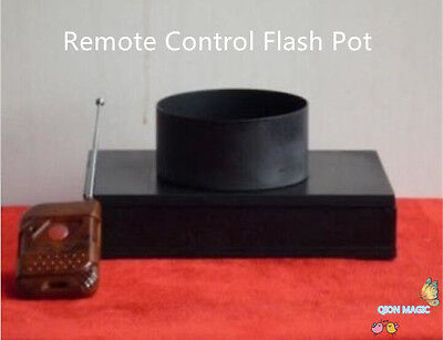 Fire Magic Pot - Remote Control Flash Pot - Theatre Effects,Stage Magic Tricks,Party Magic,Fire