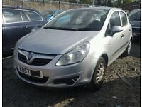 VAUXHALL CORSA 1.3 DIESEL 2007 SILVER BREAKING FOR ALL PARTS