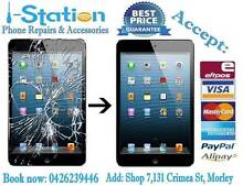 iPad Cracked Screen Glass LCD Battery Replacement Service Morley Bayswater Area Preview