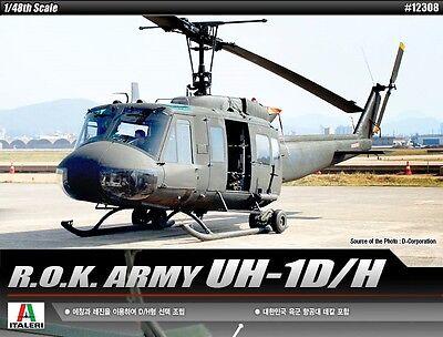 Academy 1/48 UH-1D/H NIB 12308 Plastic Model Kit