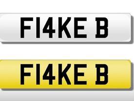 FLAKE B. F14KE B. Private plate *bmw*audi*mercedes*range rover*lexus*jaguar*vw*honda*