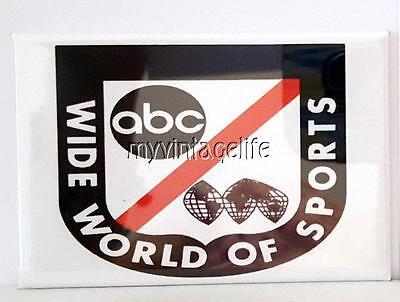 ABC Wide World of Sports Fridge MAGNET  2