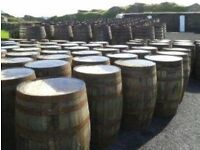 Whisky barrel firewood