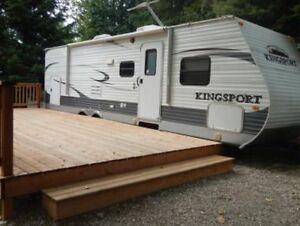 2012 Kingsport Travel Trailer 30ft