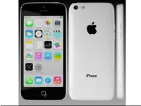 Iphone 5c white on ee boxed
