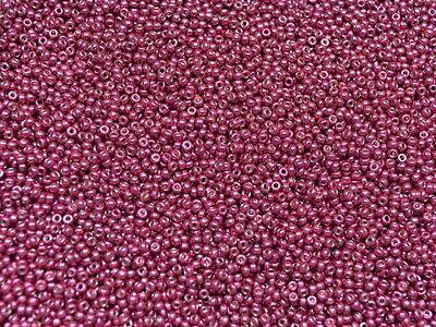 seed beads 11 0 duracoat galvanized magenta