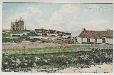 Caithness postcard - At John O'Groats
