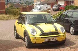 Mini one yellow Full Mot