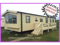 HOLIDAY DISCOUNTS! FERN HAVEN: Presthaven Beach Resort,Prestatyn,N.Wales: 3-bed caravan for holidays