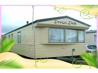 SUMMER BREAKS: DREWS DEN: Golden Gate Holiday Centre, Towyn, N Wales: 3-bed (6-berth) static caravan