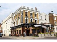 FULL/PART-TIME BARTENDERS AND WAITING STAFF REQUIRED FOR FUNKY GASTRO PUB IN NOTTING HILL