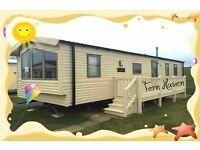 SUMMER BREAKS: FERN HAVEN: Presthaven Beach Resort, Prestatyn,N Wales:3-bed (8-berth) static caravan