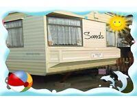 SUMMER BREAKS: SANDS: Sandy Bay, Towyn, N Wales: 3-bed (6-berth) static caravan