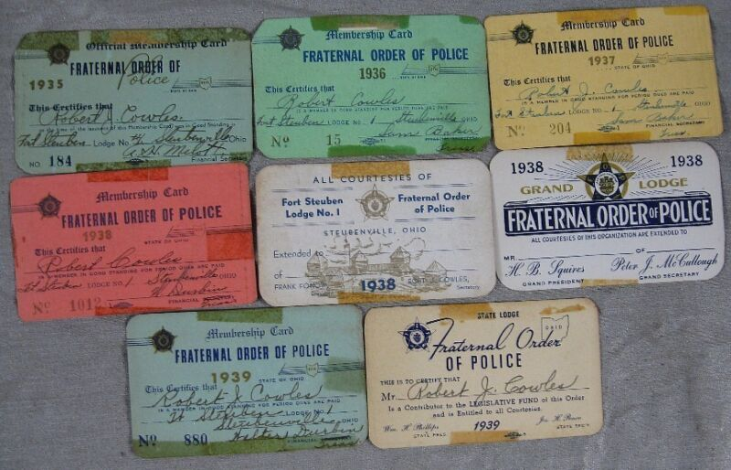 Lot of 8 1930