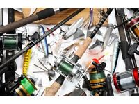 Fishing gear wanted for cash. Cash on collection.