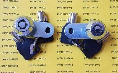 2 Keyed Alike Nonretaining 58 Tubular Cam Lock Rv Camper Drawer Cabinet Toolbox