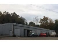 Workshop/storage 53 sq m on small industrial estate, Arborfield nr Reading