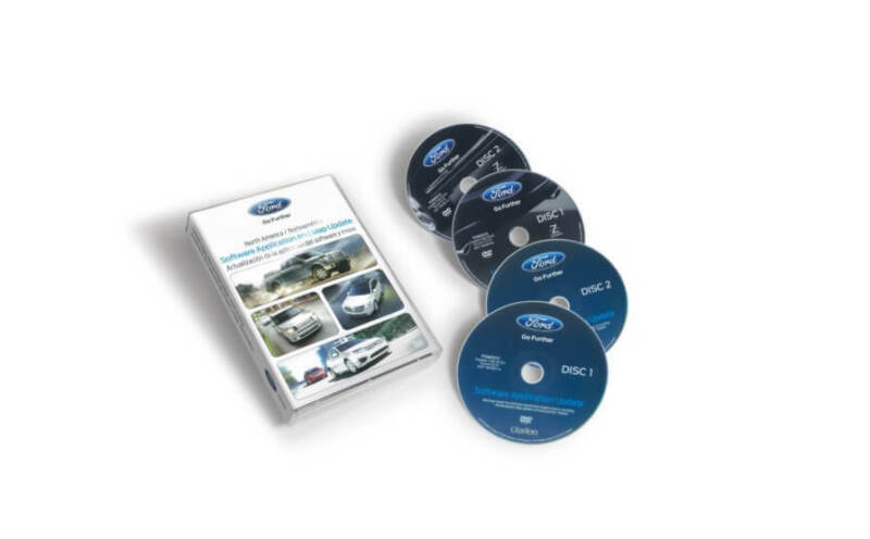 2011 Ford F-150 Navigation DVD Discs Map Update