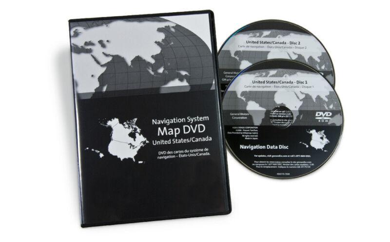2013 GMC Yukon Navigation Disc Map Update