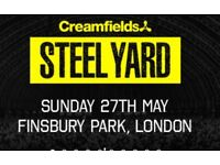 2x Tiesto tickets, Sunday 27th May at the Steel Yard London