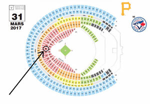 Blue Jays de Toronto vs Pirates de Pittsburgh