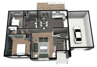 Drafting and 3D Rendering Services