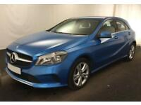 2016 BLUE MERCEDES A180 1.5 SPORT DIESEL MANUAL CAR FINANCE FROM 54 P/WK