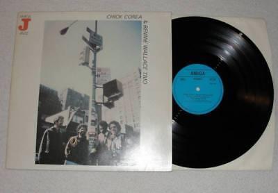 CHICK COREA & BENNIE WALLACE TRIO LP Vinyl AMIGA Jazz 1985 * RARE