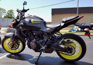 2017 Yamaha Fz-07. Only 300kms, Financing available