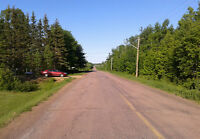 Surveyed lot for sale near Shediac River