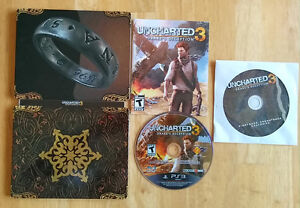 Uncharted 3 Steel Case Edition + Bonus Sound Track CD - PS3