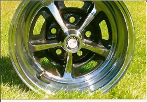 Vintage original Magnum 500 wheels