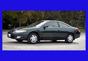 2000 TOYOTA SOLARA 2 DOOR AS IS