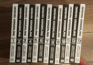 Deadman Wonderland Complete Manga Series Volumes 1-13