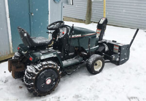 Craftsman 20 HP Garden Tractor with mower and blower