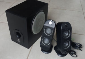 Logitech X-230 Speaker for PC  with subwoofer