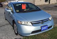 2007 Honda Civic Hybrid Sedan