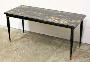 1950's Italian Marble ART DECO Coffee Table
