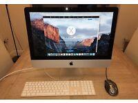 "Apple iMac 21.5"" (Aluminium) Intel 3.6 Ghz"