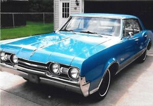 1967 Cutlass 4 door Hardtop