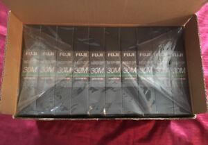 Brand New 10x Fuji Betacam SP Metal Tapes M321SP