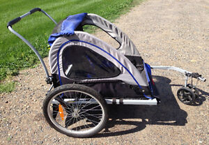 Schwinn two seat bike stroller