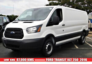 FORD TRANSIT 250 EXT 2016 Workhorse.... Must Sell.