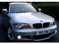 2011 BMW 1 SERIES 2.0 118d M Sport 5dr LOW MILEAGE+FULL SERVCE HISTRY+HPI CLEAR