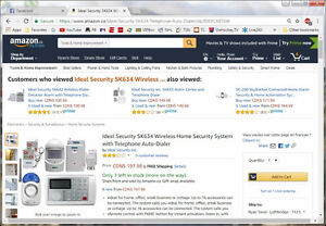 Ideal Wireless Home Security System