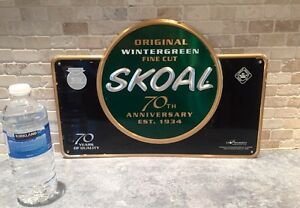 Skoals Chewing Tobacco Tin sign